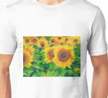 Arles Sunflowers Unisex T-Shirt