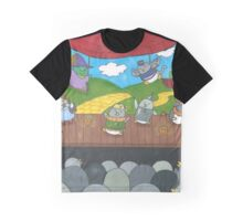 Penguin Theater Graphic T-Shirt