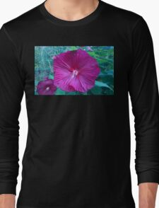 .Trumpet Flowers. Long Sleeve T-Shirt