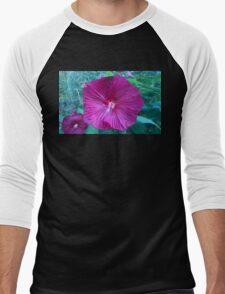 .Trumpet Flowers. Men's Baseball ¾ T-Shirt