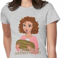 I Carried a Watermelon Womens Fitted T-Shirt