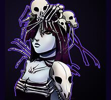 Skull Queen by OddworldArt