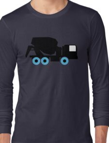 Cement Truck Icon Long Sleeve T-Shirt