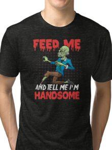 Handsome Zombie Tri-blend T-Shirt