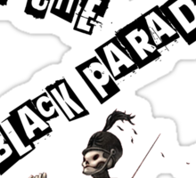 WELCOME TO THE BLACK PARADE Sticker