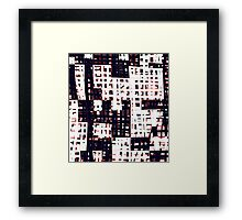 Abstract city landscape  Framed Print