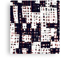 Abstract city landscape  Canvas Print