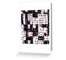 Abstract city landscape  Greeting Card