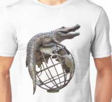 On Top Of The World Transparent Unisex T-Shirt