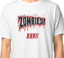 Zombies, Run- Halloween, Walkers Classic T-Shirt
