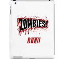 Zombies, Run- Halloween, Walkers iPad Case/Skin