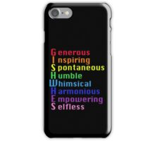 GISHWHES Acrostic Poem iPhone Case/Skin