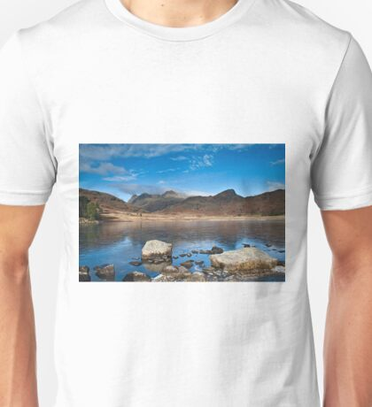 Blea Tarn, Cumbria, uk Unisex T-Shirt