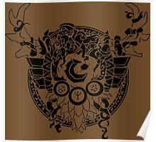 Druid Crest Poster