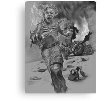 Tougher Than Your Average ILOVETHECORPS Marine Turned into a Bone Freak! Canvas Print