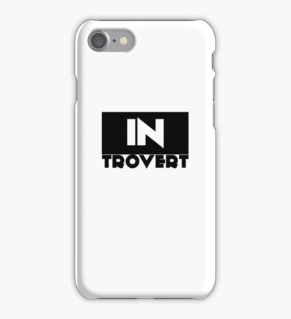 Introvert and PROUD iPhone Case/Skin