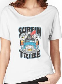 Surfin' Tribe. Women's Relaxed Fit T-Shirt