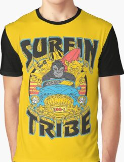 Surfin' Tribe. Graphic T-Shirt
