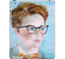 CHILD with GLASSES iPad Case/Skin