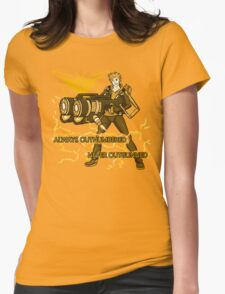 Always Outnumbered Never Outgunned Womens Fitted T-Shirt