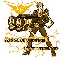 Always Outnumbered Never Outgunned Photographic Print
