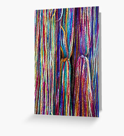 All Strung Out Greeting Card