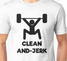 Clean and Jerk Unisex T-Shirt