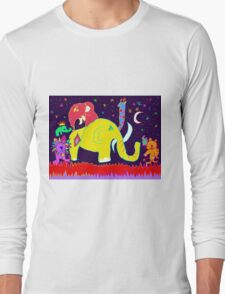 Space Sparkle Long Sleeve T-Shirt