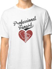 Professional Fangirl, Broken Heart Classic T-Shirt