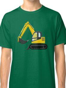 Excavator Machine Classic T-Shirt