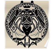 Paladin Crest Poster