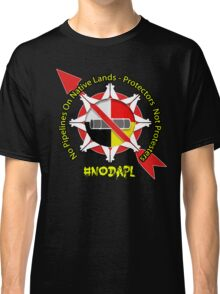 No Pipeline On Native Lands  Classic T-Shirt