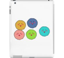 Little Cute Fuzzies (Fuzzy Balls) iPad Case/Skin