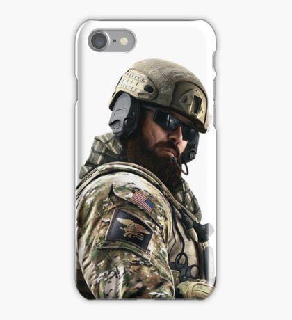 Blackbeard Rainbow 6 Siege - portait iPhone Case/Skin