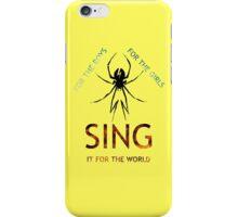 SING IT iPhone Case/Skin