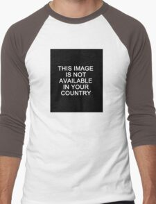 This image is not available in your country Men's Baseball ¾ T-Shirt