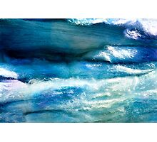 Waves of Wool Photographic Print
