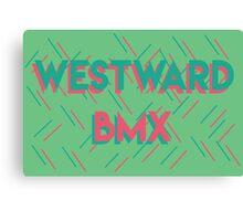 West Word Sprinkles Canvas Print