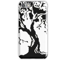 tree_roots_circle iPhone Case/Skin
