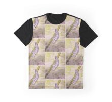 Upside Down Sloth In a Jungle of Leaves Graphic T-Shirt