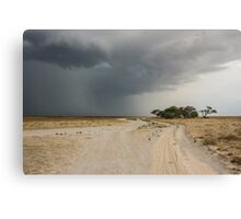 Storm rolling in over Deception Valley Canvas Print