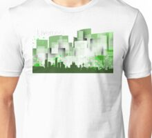 Liverpool green skyline Unisex T-Shirt