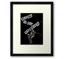 WELCOME TO THE BLACK PARADE Framed Print
