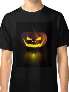 Halloween Pumpkin Lamp Classic T-Shirt