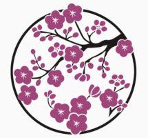 Plum Blossoms by mingtees