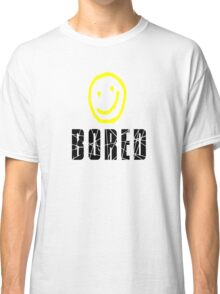 Bored, Smiley Face, Sherlock Classic T-Shirt