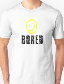 Bored, Smiley Face, Sherlock Unisex T-Shirt