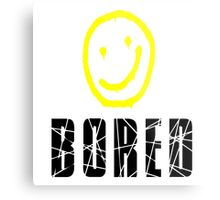 Bored, Smiley Face, Sherlock Metal Print