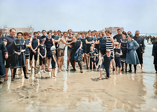 Smile for the camera!! Atlantic City, 1905 by Sanna Dullaway