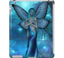visions in blue iPad Case/Skin